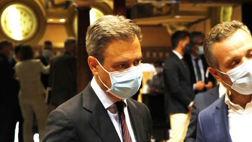Marcos Ortuño, el punto de inflexión que deja a Celdrán únicamente con Hacienda