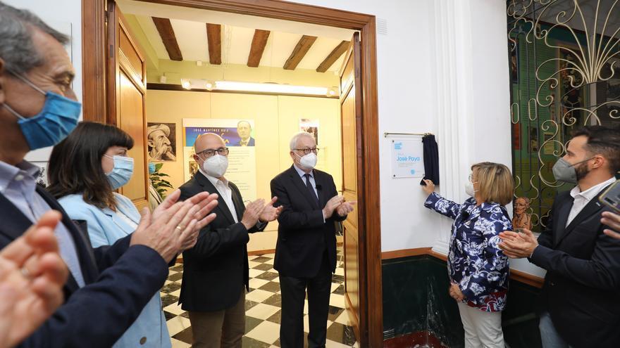 Homenaje a José Payá en Monóvar