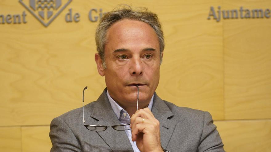 El portaveu de JxCat, Carles Ribas, deixa l'Ajuntament de Girona