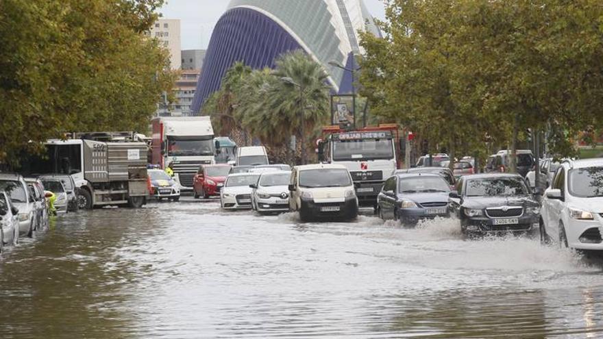 Temporal de lluvia y viento en la C. Valenciana