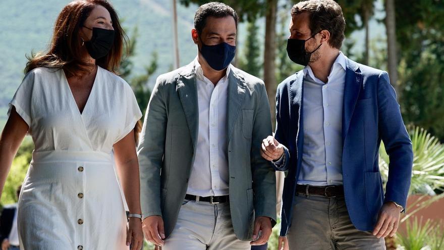 Casado pone a Moreno como referencia de «buen gobierno»
