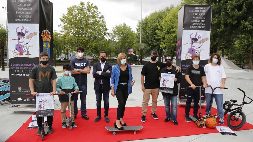 Redondela crea un festival para jóvenes con competiciones de skate, scooter y BMX