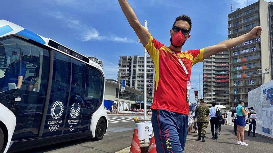 Raúl, en busca del «oro de Tokio»