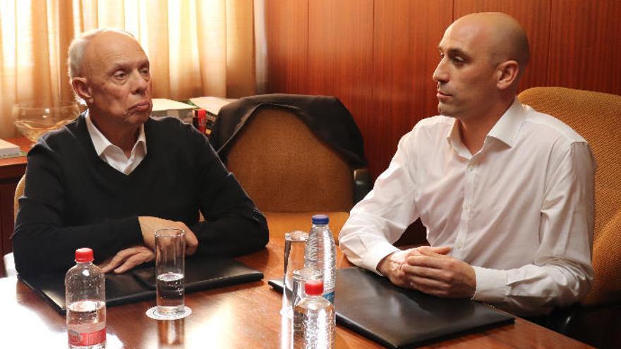 Antonio Suárez, nuevo vicepresidente de la Real Federación Española de Fútbol
