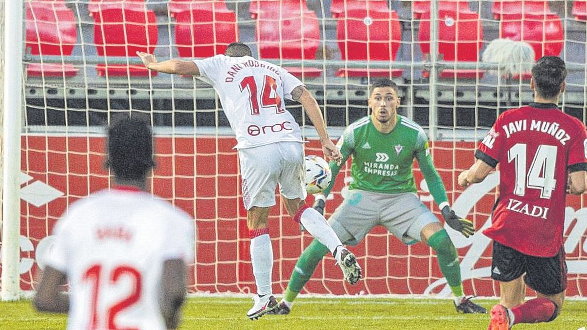 Valioso empate del Mallorca ante el Mirandés.