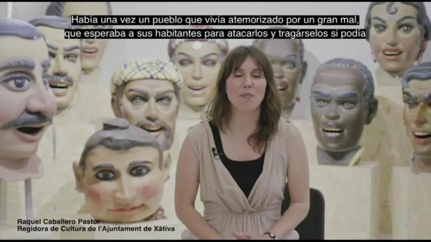 La concejala de Cultura de Xàtiva pronuncia el Pregó del Corpus