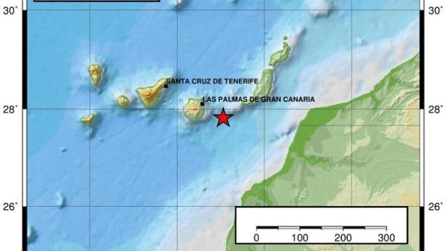Detectan una serie de terremotos en el Archipiélago canario en menos de 24 horas