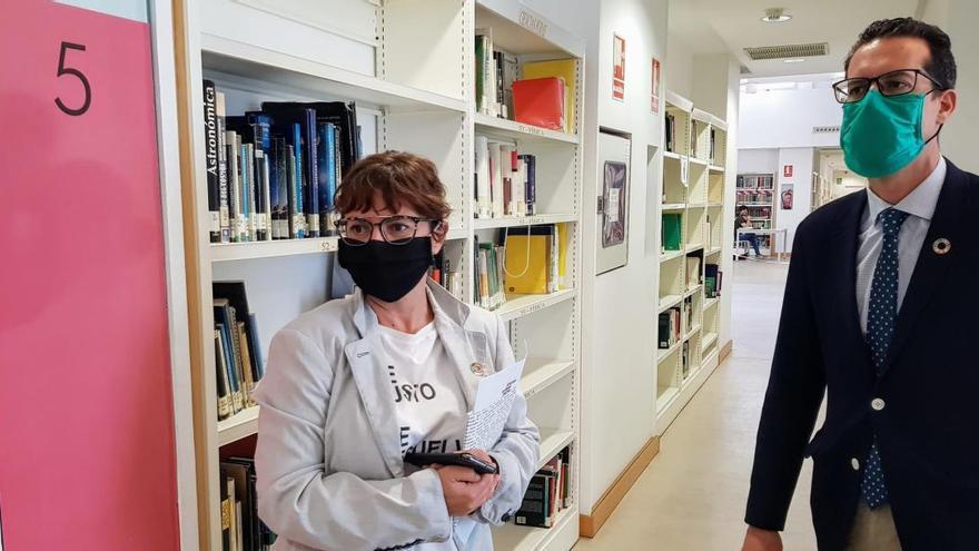 El Ayuntamiento de Elda habilita una sala con 63 puestos para estudiantes
