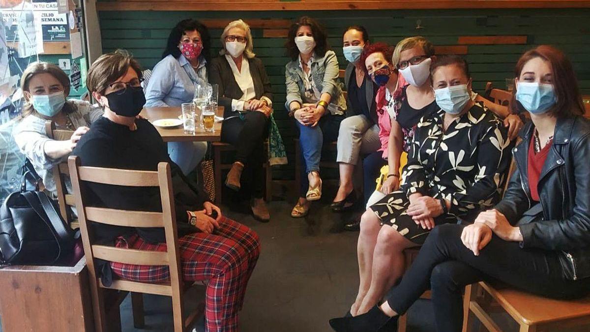 Reencuentro de mujeres emprendedoras