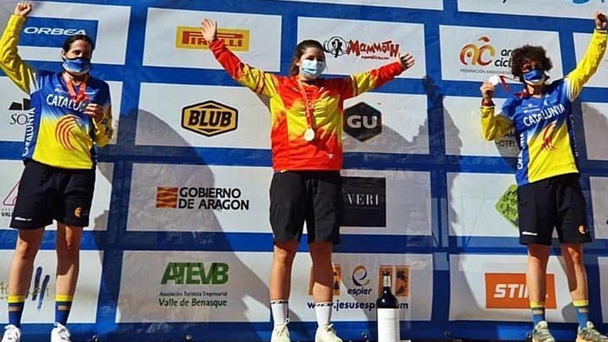 Sara Yusto, campeona de España de Enduro
