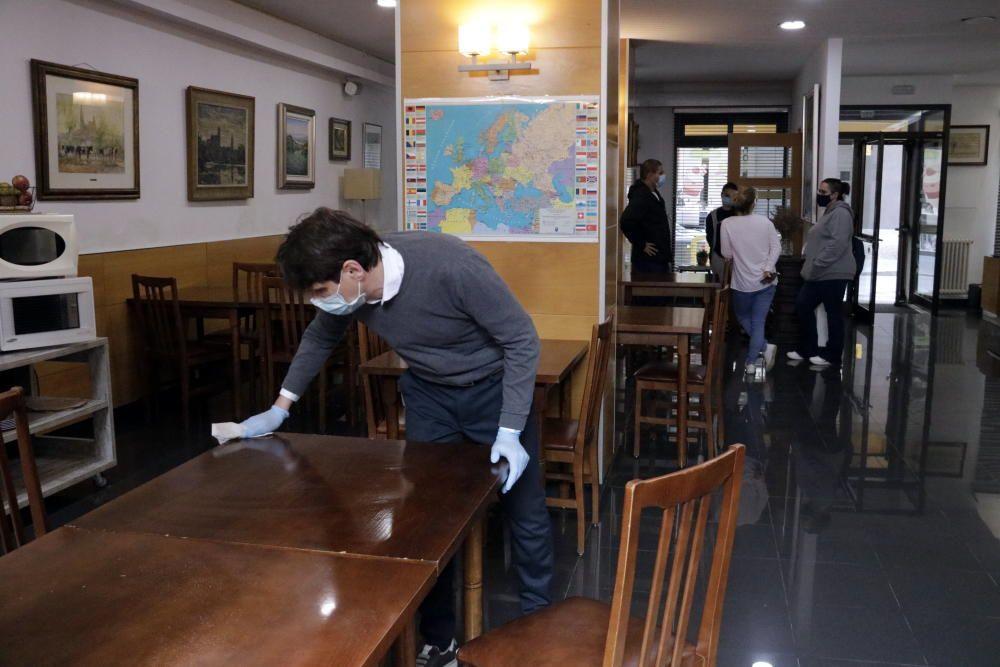 L'Hotel Europa de Girona: refugi i lloc de trobada de sanitaris