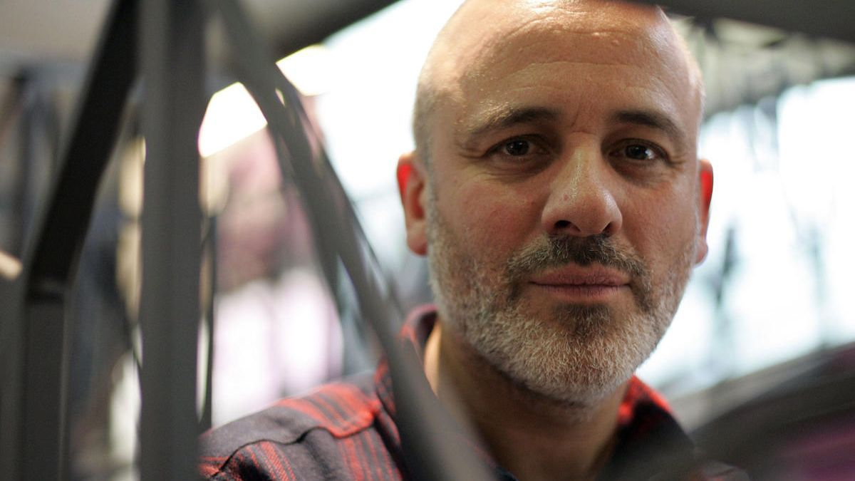 El actor, Javier Gutiérrez.