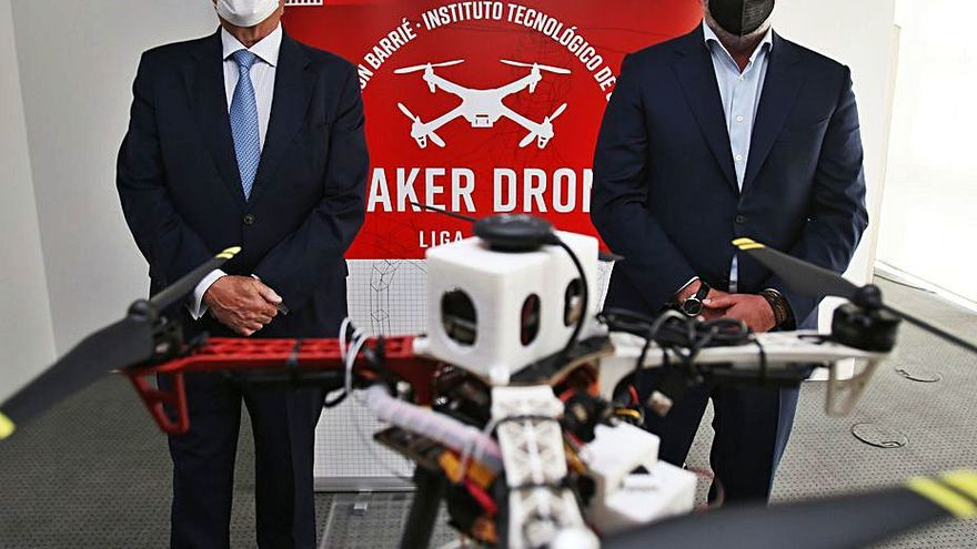 Drones para fomentar la tecnología entre los estudiantes gallegos