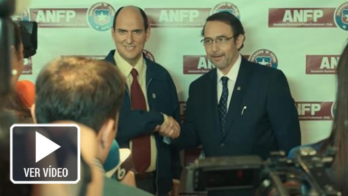 Andrés Parra se sumerge con 'El presidente' en el 'FIFAgate'