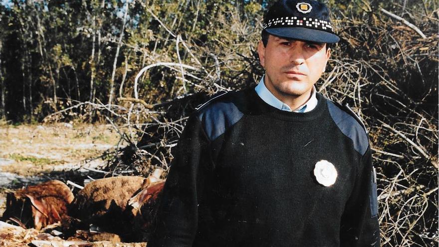 Salvador Navarra: Tota una vida dedicada a la Policia Local de Castelló d'Empúries