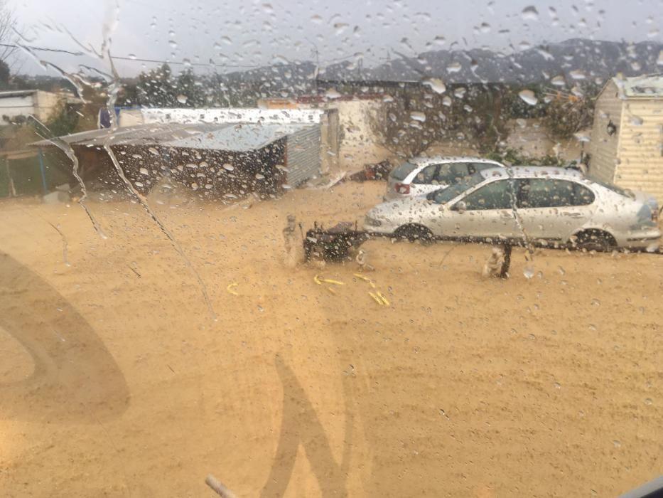 Inundaciones en Málaga 2016