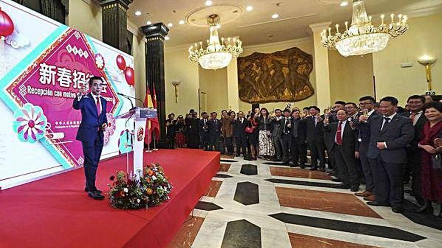 España celebra el año nuevo chino