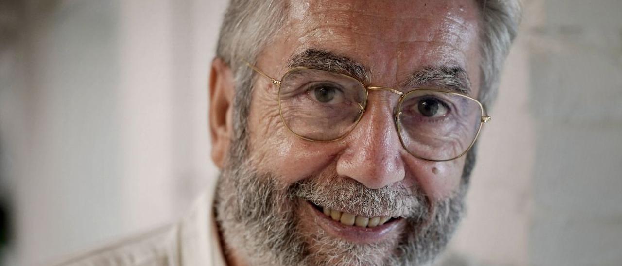 El escritor Antonio Muñoz Molina. / JOSÉ LUIS ROCA