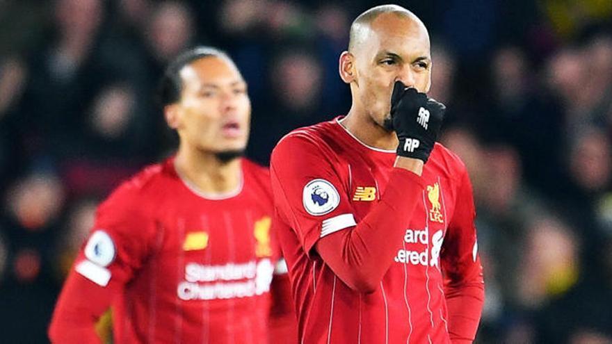 ¡Se acabó! El Liverpool pierde su primer partido en Liga... más de un año después