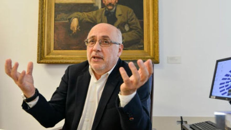 Antonio Morales agradece la implicación del comandante de la UME con Gran Canaria