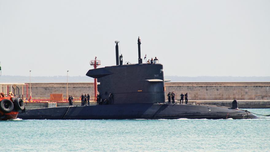 Llegan a Palma un submarino y un buque de apoyo de los Países Bajos