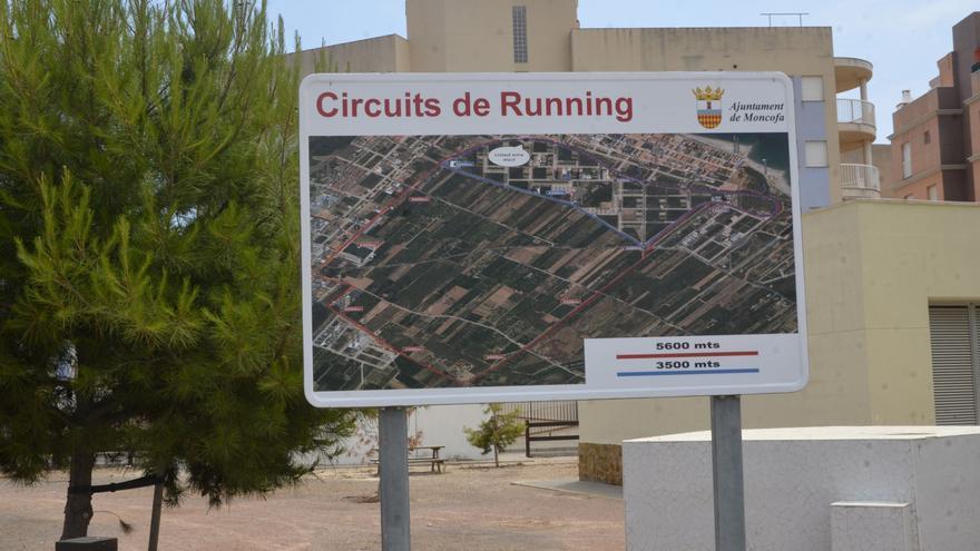 Moncofa añade 5,6 kilómetros de circuito para 'runners'