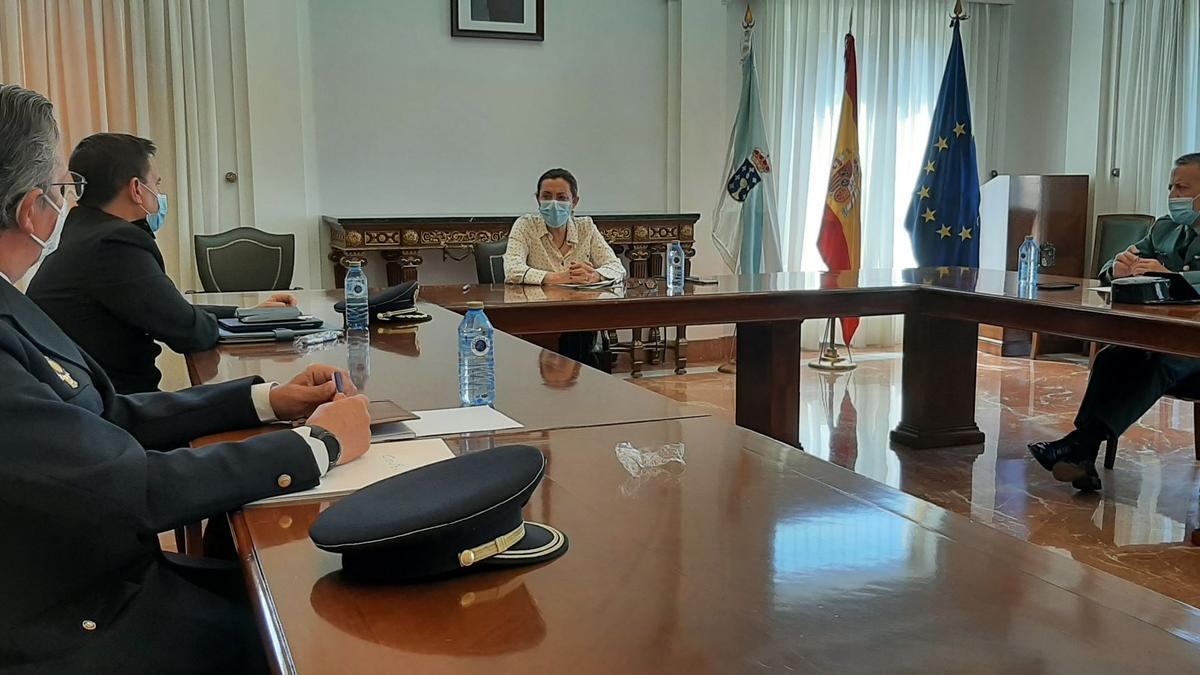 Reunión de la Junta Provincial de Seguridad