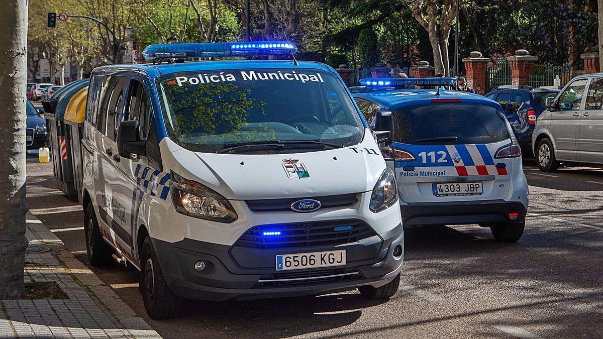 La Policía Municipal, en Zamora capital.