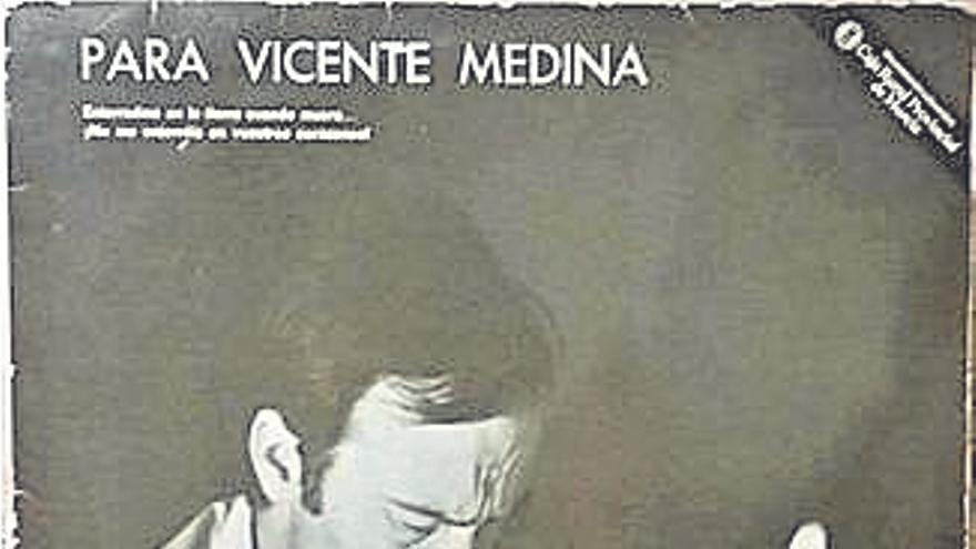 Cansera, de Vicente Medina, por José María Galiana