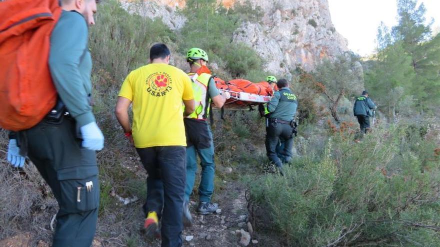 El cadáver del feriante desaparecido en Cocentaina estaba en la falda del castillo