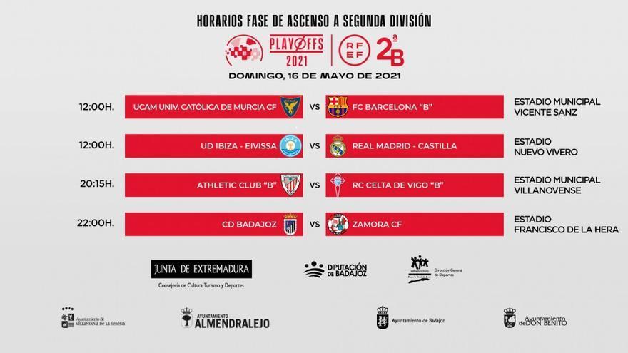 El duelo entre la UD Ibiza y el Real Madrid-Castilla cambia de horario y se jugará finalmente a las 12 horas