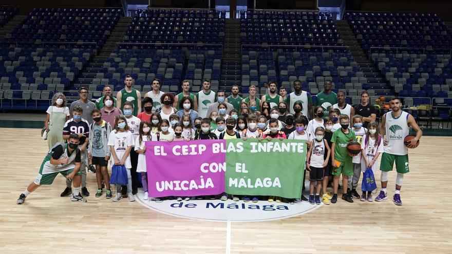 El colegio Blas Infante de Málaga inaugura la campaña 'Crecemos en equipo'