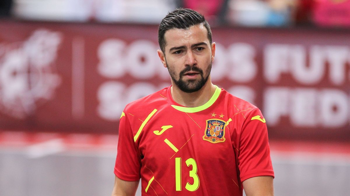 Chino con la selección española.