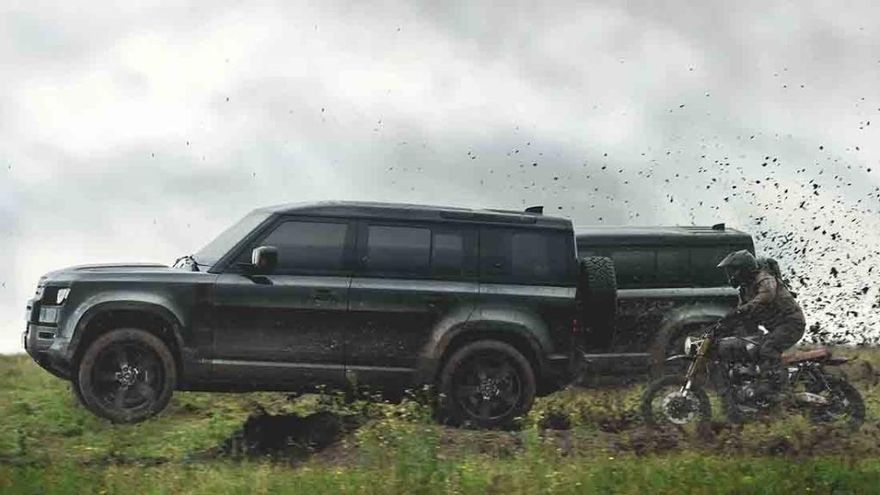 El nuevo Land Rover Defender, protagonista en la nueva película de James Bond