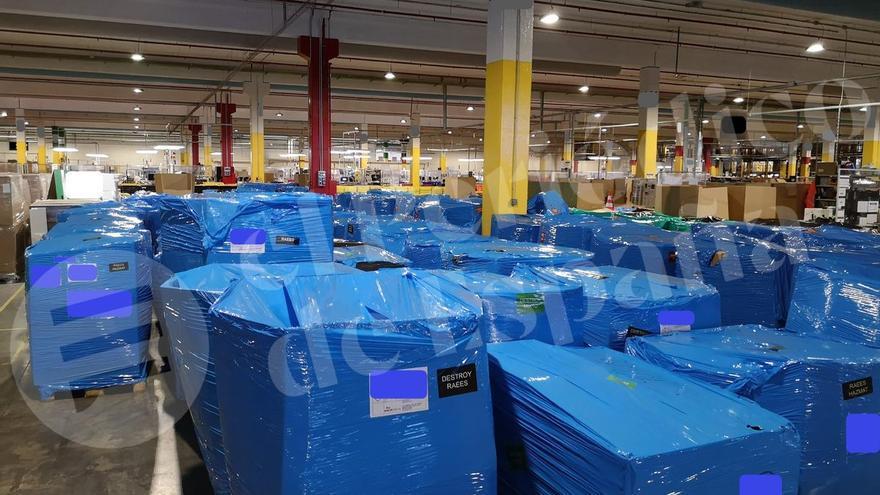 El Congreso prohibirá la destrucción de objetos no vendidos 'tipo Amazon'