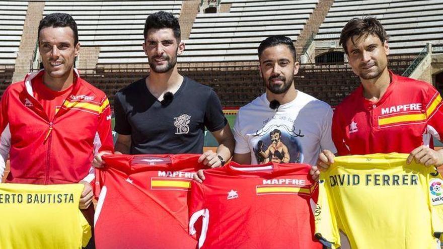 El Villarreal y el equipo español de la Davis unen sus fuerzas