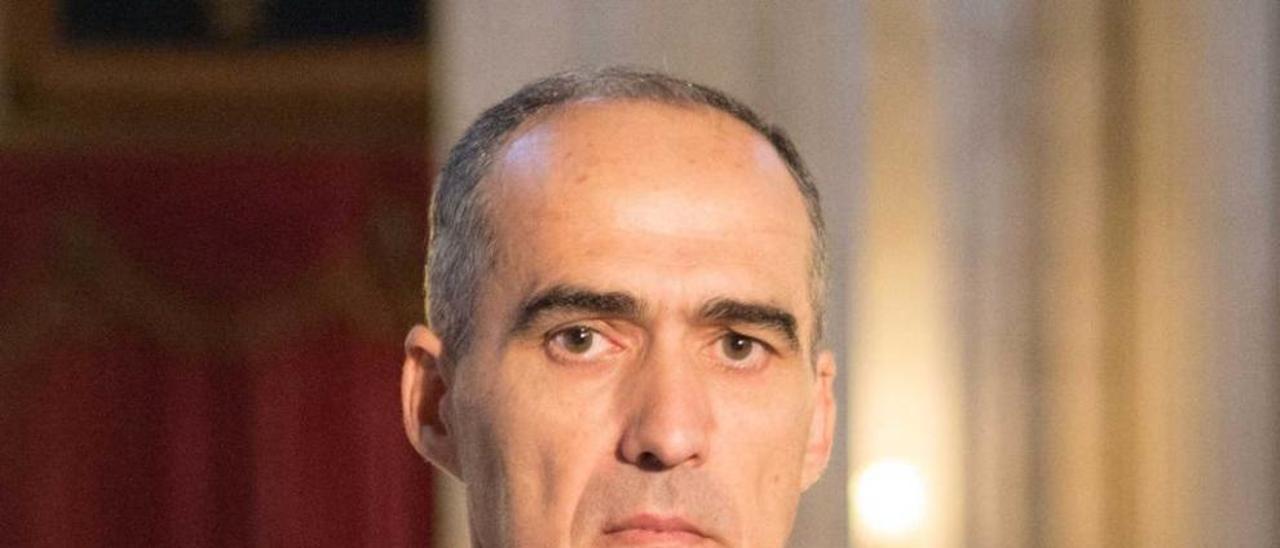 El coronel director Enrique Damián Blasco.