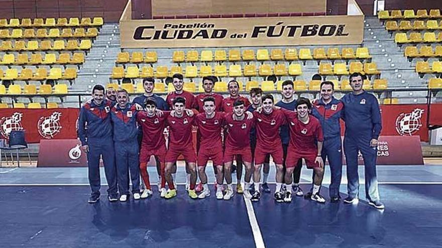 Balears sub-19 de futsal, entre las cuatro mejores de España