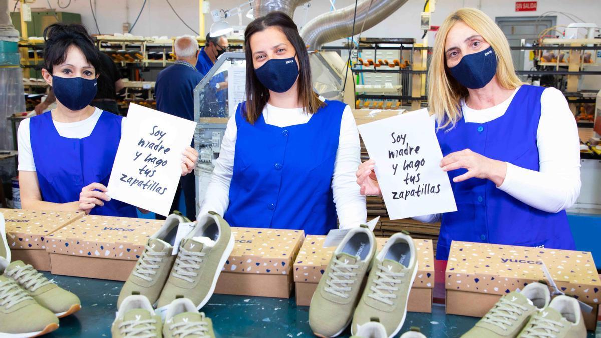 Más de 100 familias trabajan en la fabricación de las zapatillas más cómodas del mundo