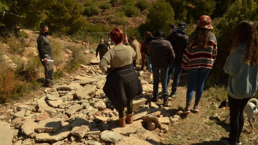 Sin camino hacia El Purgatorio