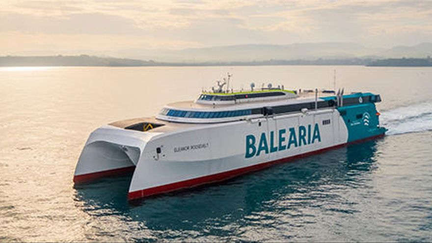 Erdgas-Schnellfähre verbindet ab April Mallorca mit dem Festland
