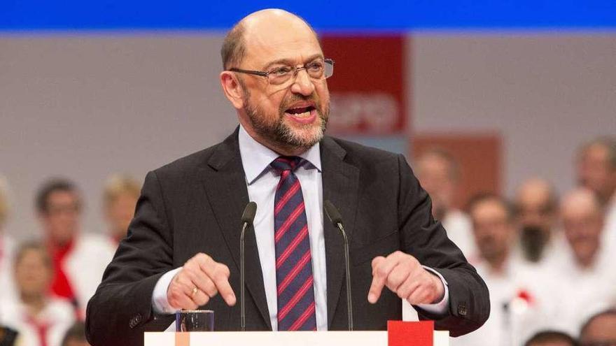 """Schulz reta al SPD a """"aprovechar"""" la negociación con Merkel"""