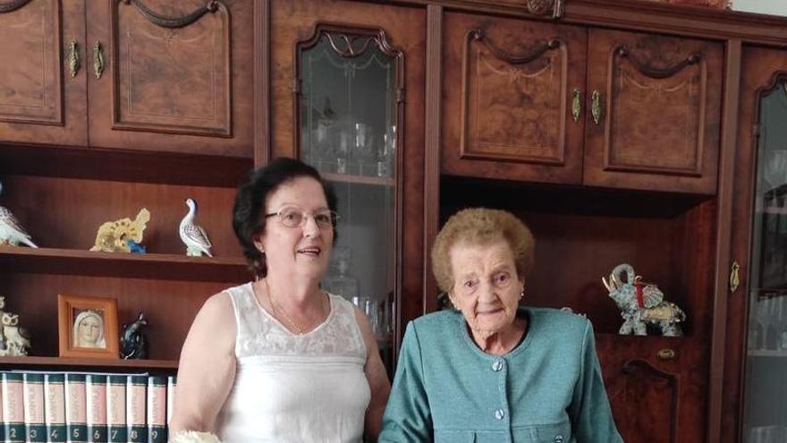 La abuela de Teror cumplió hoy 107 años