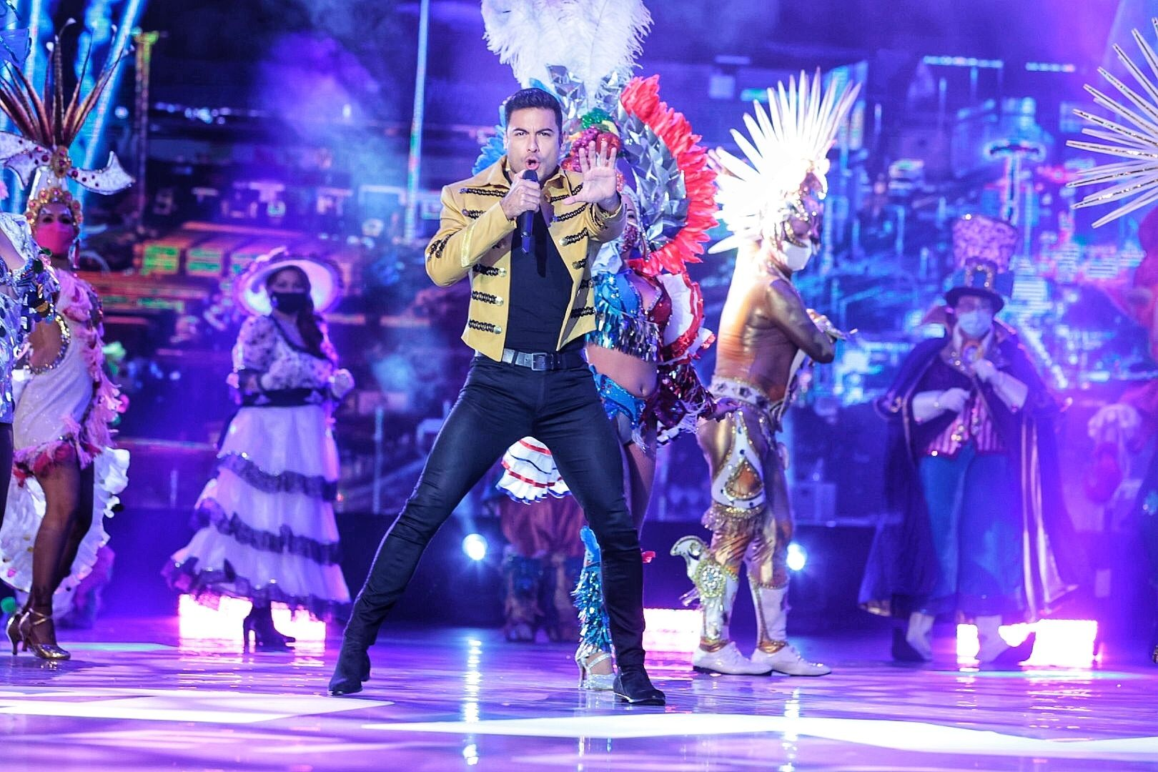 Carlos Rivera, en el Carnaval Virtual