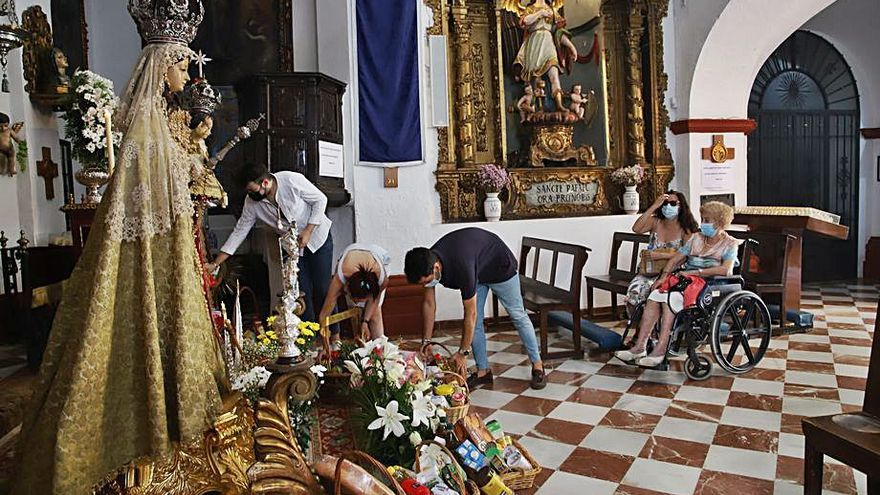 Continúan celebrándose actos en honor a la Virgen del Socorro