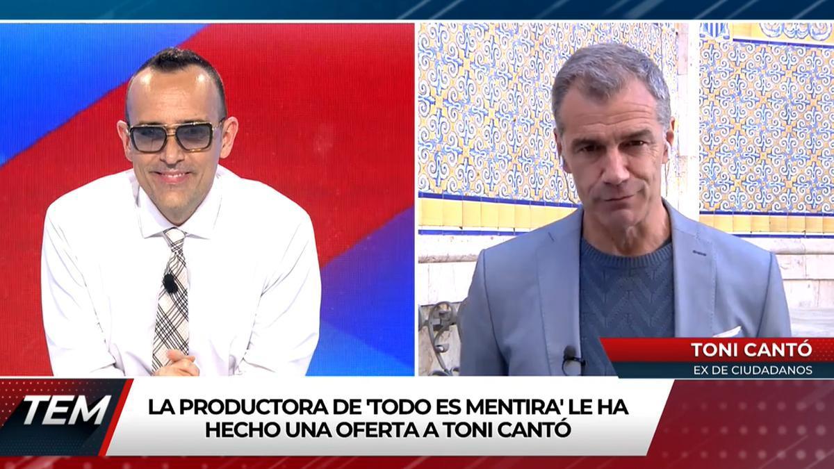 Risto Mejide y Toni Cantó.