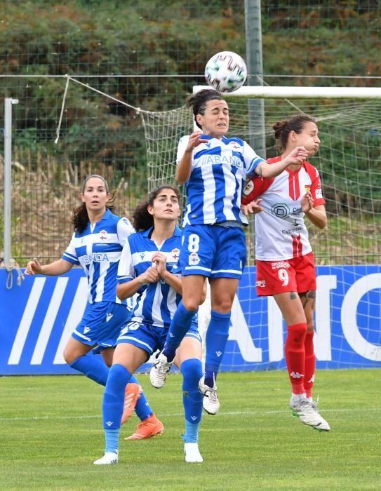 El Dépor Abanca pierde 1-2 ante el Santa Teresa