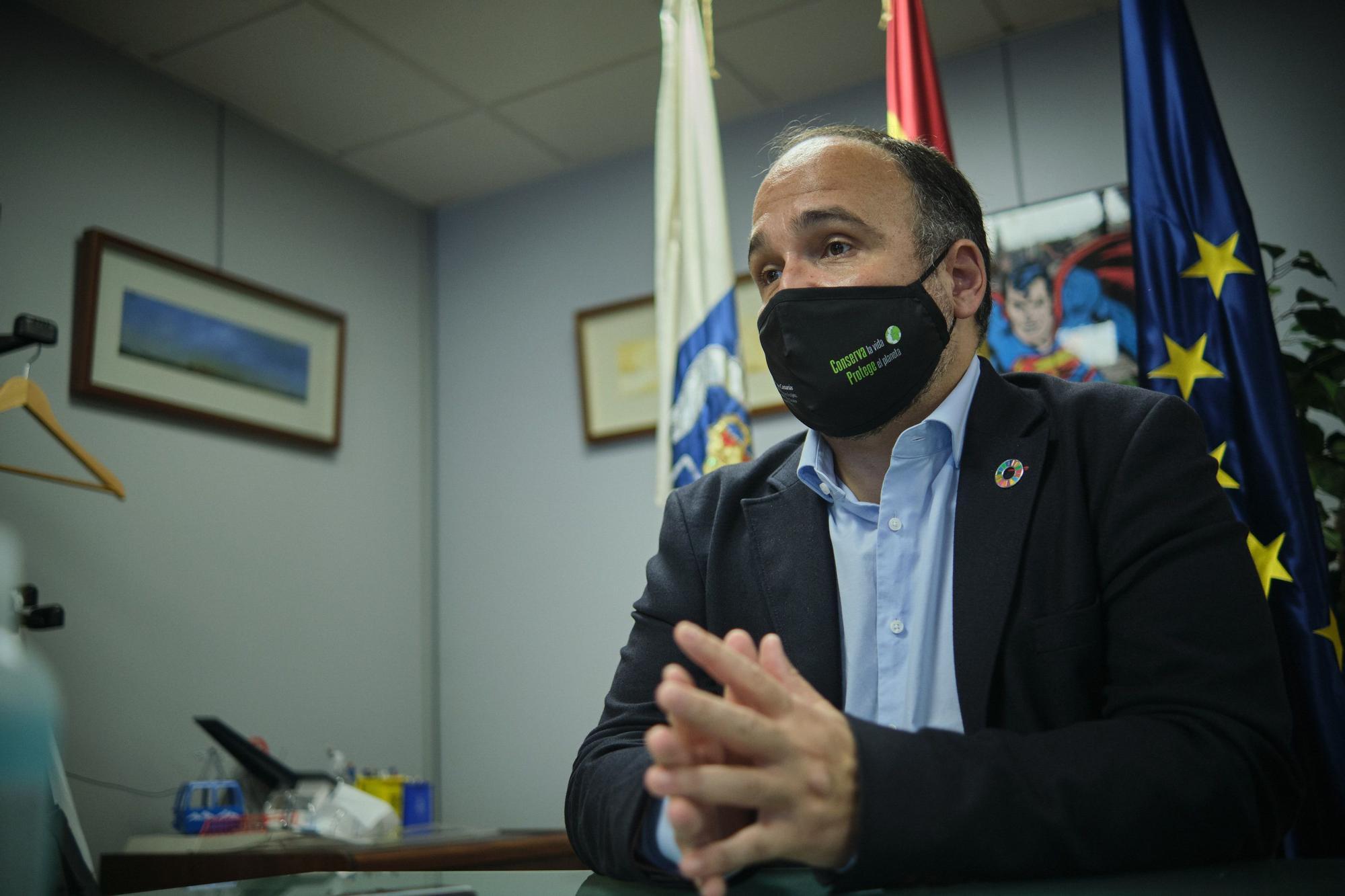 El consejero José Antonio Valbuena.