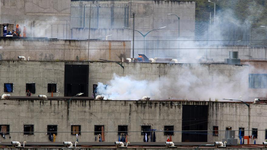 Las autoridades dan por controlados los nuevos motines en dos cárceles de Ecuador