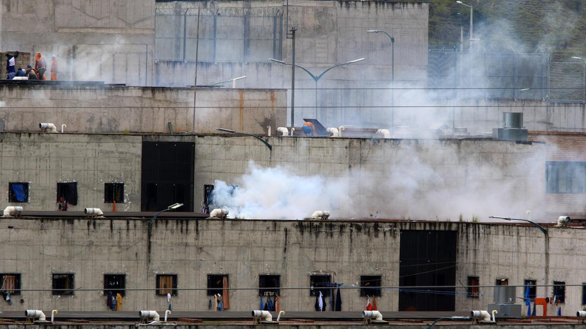 Motines en cárceles de Ecuador.